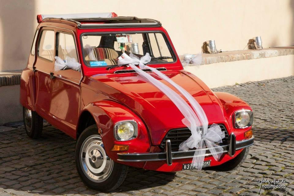 Noleggio auto per matrimoni Per il tuo matrimonio scegli le nostre auto